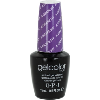 OPI Gelcolor 'A Grape Fit!' Soak-Off Gel Nail Lacquer