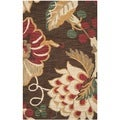Safavieh Handmade Jardin Brown/ Multi Wool Rug (3' x 5')