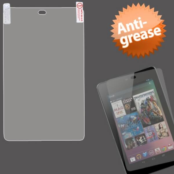 BasAcc Clear Anti-grease LCD Screen Protector for Google Nexus 7