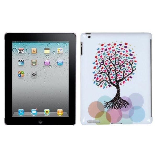 INSTEN Love Tree Back Tablet Case Cover With Package for Apple iPad 2/ 3/ 4