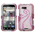 BasAcc Phoenix Tail Diamante Protector Case for Motorola MB525 Defy