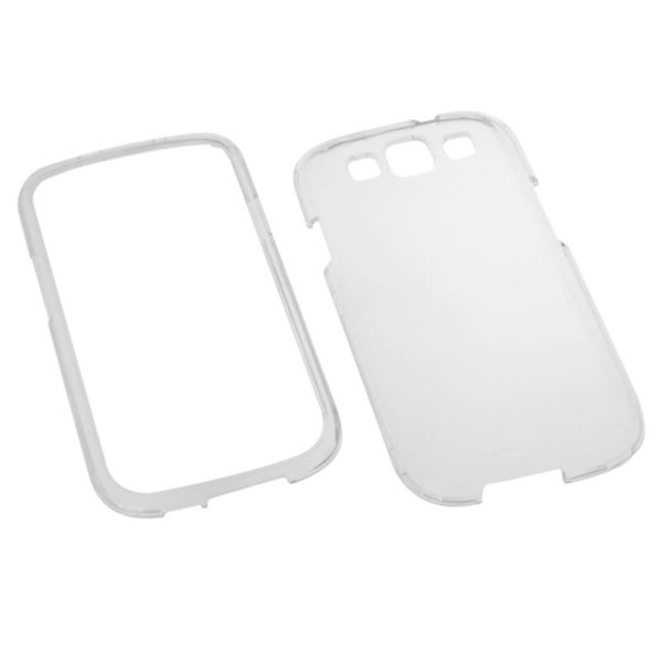 INSTEN Crystal Hard Plastic Cover Phone Case Cover for Samsung Galaxy S3 SIII i9300 - Tra