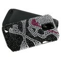 BasAcc Skull Diamante Fusion Case for Samsung T989 Galaxy S2