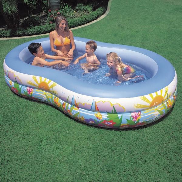 Outdoor Swimming Pool Kids Family Children Colorful Ocean Inflatable Air Fun Pvc Ebay