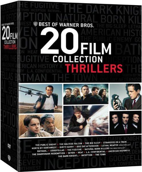 Best of Warner Bros. 20 Film Collection: Thrillers (DVD)