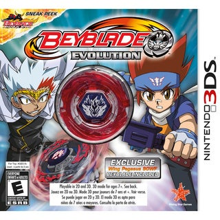 NinDS 3DS - Beyblade Evolution Ce