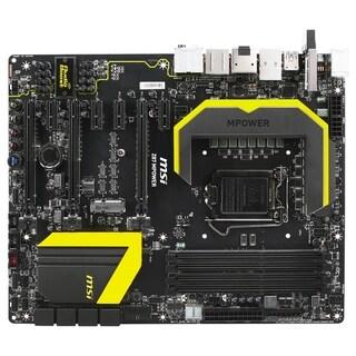 MSI Z87 MPOWER Desktop Motherboard - Intel Z87 Express Chipset - Sock