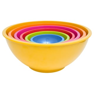 Zak! Brights 6-piece Nested Bowl Set