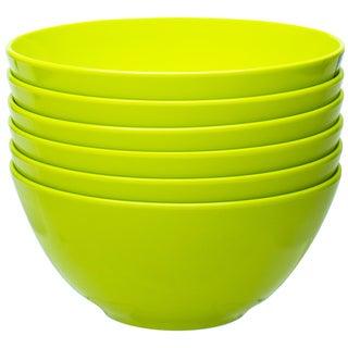 Zak! Ella Kiwi 6.25-Inch Bowls (Set of 6)