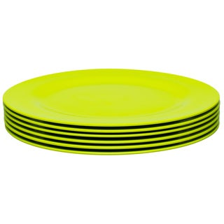 Zak! Ella Kiwi 10.875-inch Dinner Plates (Set of 6)