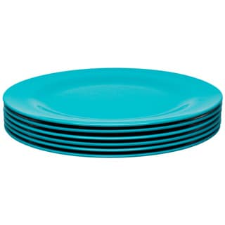 Zak! Ella Azure 9.25-Inch Salad Plates (Set of 6)