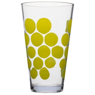 Zak! Dot Dot Kiwi 19-ounce Hiball Tumbler (Set of 6)