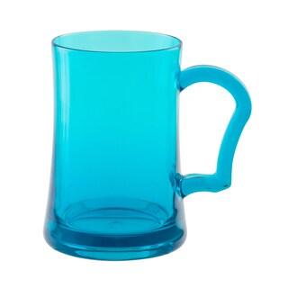 Zak! Adele Azure Blue 26-ounce Mugs (Set of 6)
