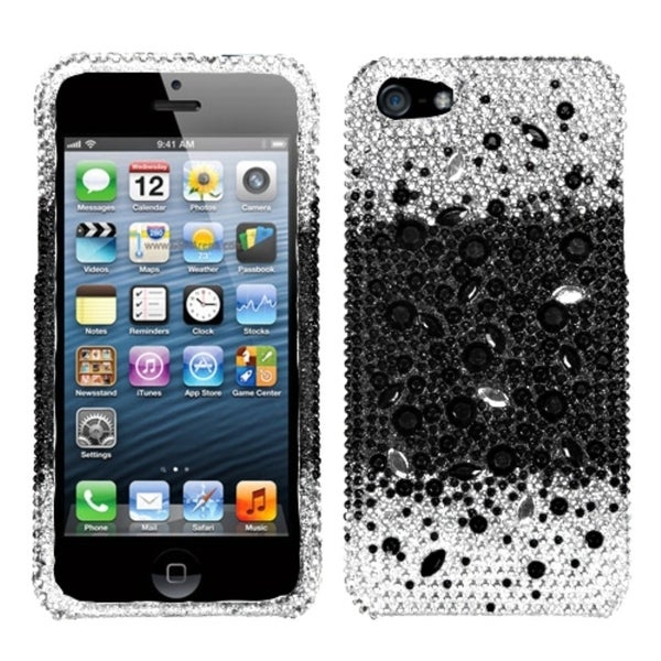 BasAcc Universe Skin Bling Diamante Diamond Case for Apple iPhone 5