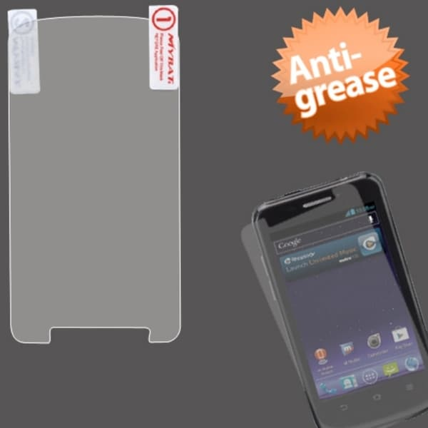 INSTEN Clear Anti-grease LCD Screen Protector for ZTE N9120 Avid 4G