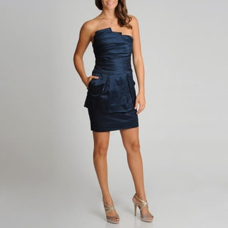 BCBGMAXAZRIA Women's Strapless Cocktail Dress