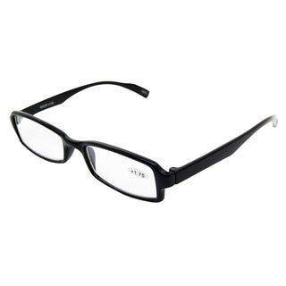Noir Black Unisex Reading Glasses