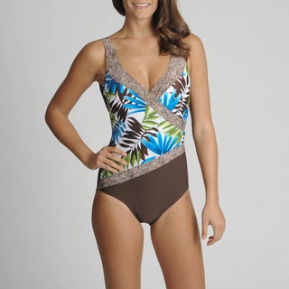 Envya 1-piece Tropical Swimsuit