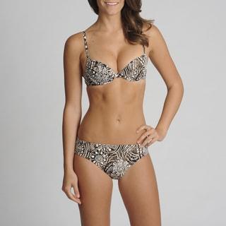 Newport News 2-piece Abstract Printed Bikini