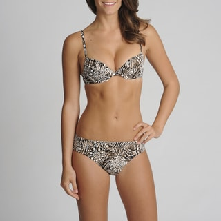 Newport News 2-piece Abstract Printed Bikini