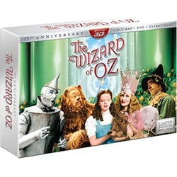 Wizard Of Oz 3D: 75Th Anniversary Collector's Edition (Blu-ray/DVD)