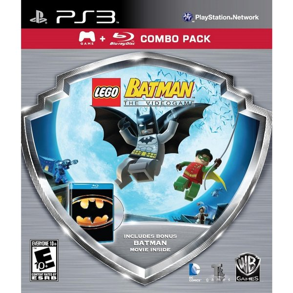 PS3 - LEGO Batman - Silver Shield Combo Pack 11147408