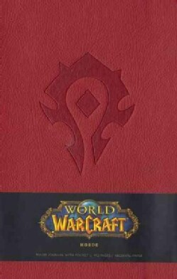 World of Warcraft Horde, Large: Ruled Journal With Pocket, Archival Paper (Notebook / blank book)