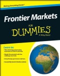 Frontier Markets for Dummies (Paperback)