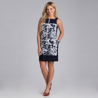 Amelia Women's Zipper Front Combo Dress