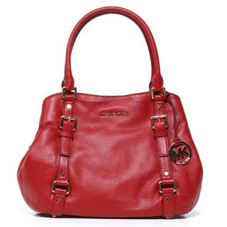 Michael Kors 'Bedford' EW Red Satchel