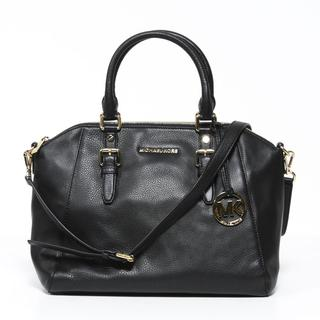 Michael Kors 'Bedford' Zip-top Black Satchel