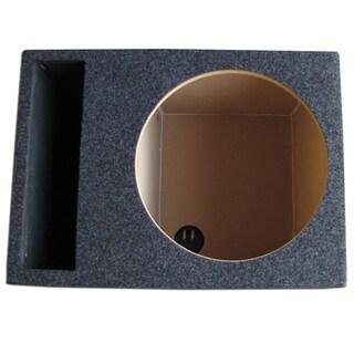 Single Slot Vented Hatchback Speaker Box with Labyrinth Power Port