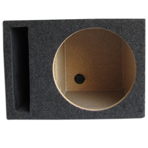 Single Slot Vented Hatchback Speaker Box with Labyrinth Power Port