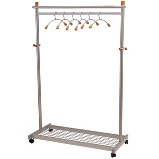 Alba Modern Mobile Garment Rack