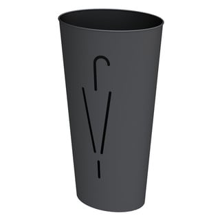Alba Modern Metal Black Umbrella Stand
