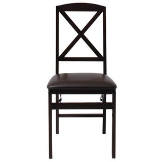 Cosco Wood X-Back Folding Chair 2 Pack