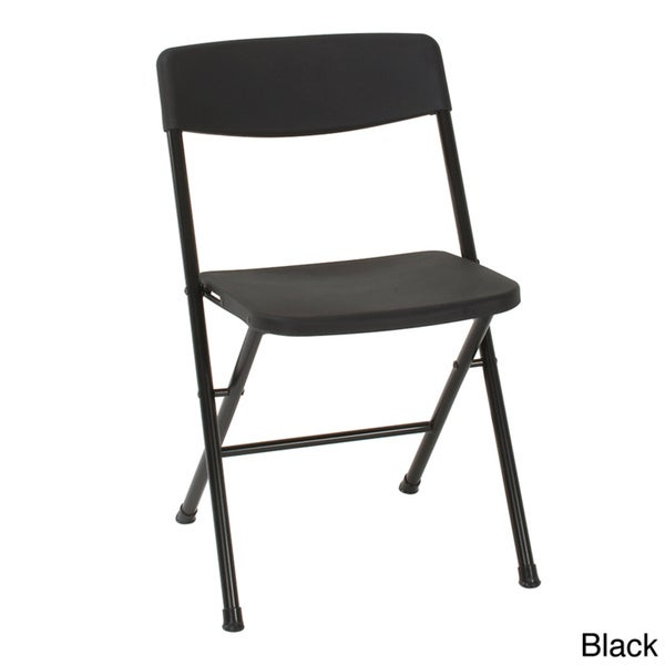 Cosco Resin Folding Chair 4 Pack Overstock Shopping The Best Prices on Co
