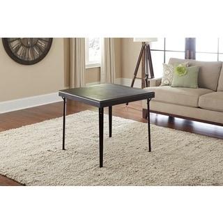 Cosco Folding Espresso Wood Table