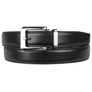 Boston Traveler Men's Adjustable Leather Belt