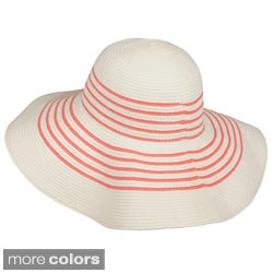Journee Collection Packable Woven Paper Sun Hat