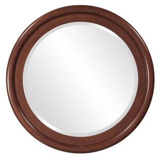 Timberland Natural Walnut Round Mirror