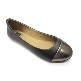Blue Women's 'B-Flat 2' Black Flats