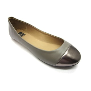 Blue Women's 'B-Flat 2' Grey Flats