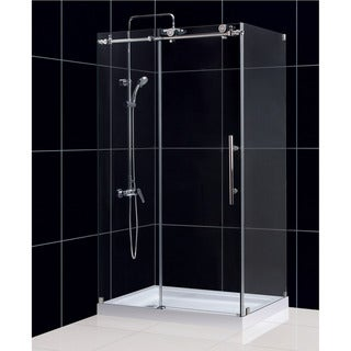 DreamLine Enigma-X 34-1/2 x 48-3/8 Frameless Sliding Shower Enclosure