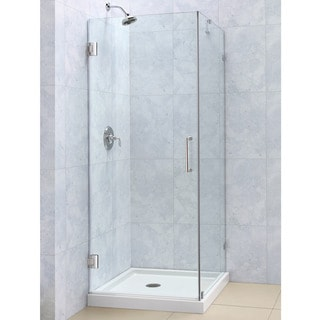 DreamLine Radiance 30 x 30 Frameless Hinged Shower Enclosure