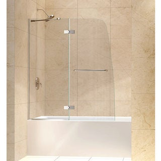DreamLine Aqua Ultra 48-inch Frameless Hinged Tub Door