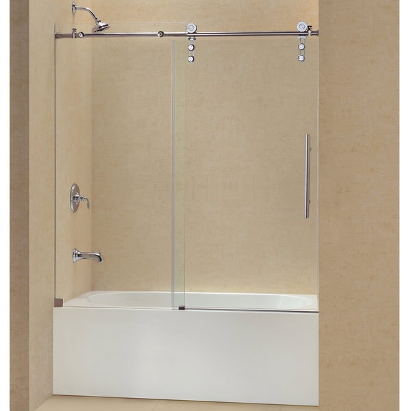 DreamLine Enigma Z 56 To 59 Inch Frameless Sliding Tub Door