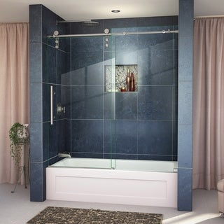 DreamLine Enigma-Z 56 to 59-inch Frameless Sliding Tub Door