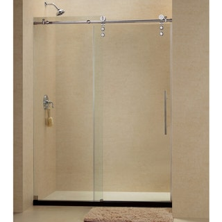 DreamLine Enigma-Z 44 to 48-inch Fully Frameless Sliding Shower Door