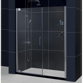 DreamLine Elegance 54.5 to 56.5-inch Frameless Pivot Shower Door